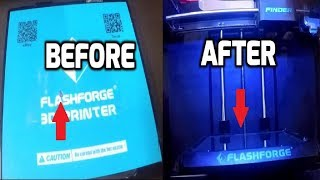 Gambar cover Free FlashForge Finder Build Plate Tray Option