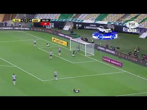 Gol de Breno Lopes que deu o título da libertadores 2020 ao Palmeiras