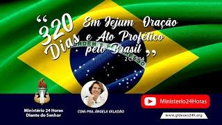 Convocação de 320 Dias de Jejum pelo Brasil