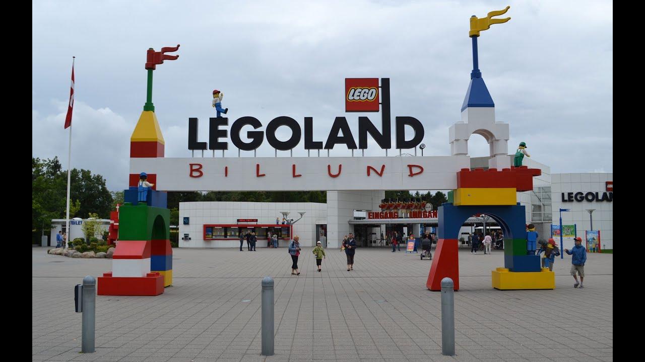 Legoland billund resort denmark youtube for Sede lego danimarca