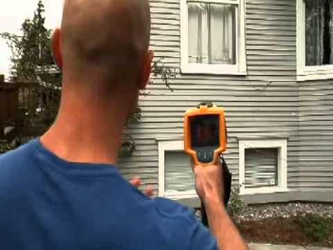 Fluke TiR1 Infrared Camera Building Envelope Thermography