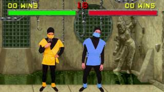Mortal Kombat Fatalities Scorpion Subzero