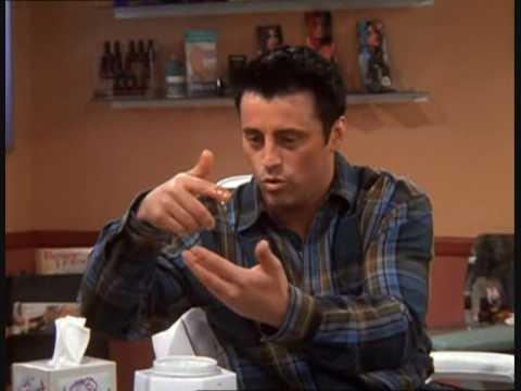 Joey gets the eyebrows waxed [HD]