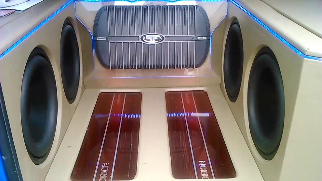 Modifikasi Audio Mobil Kijang Super