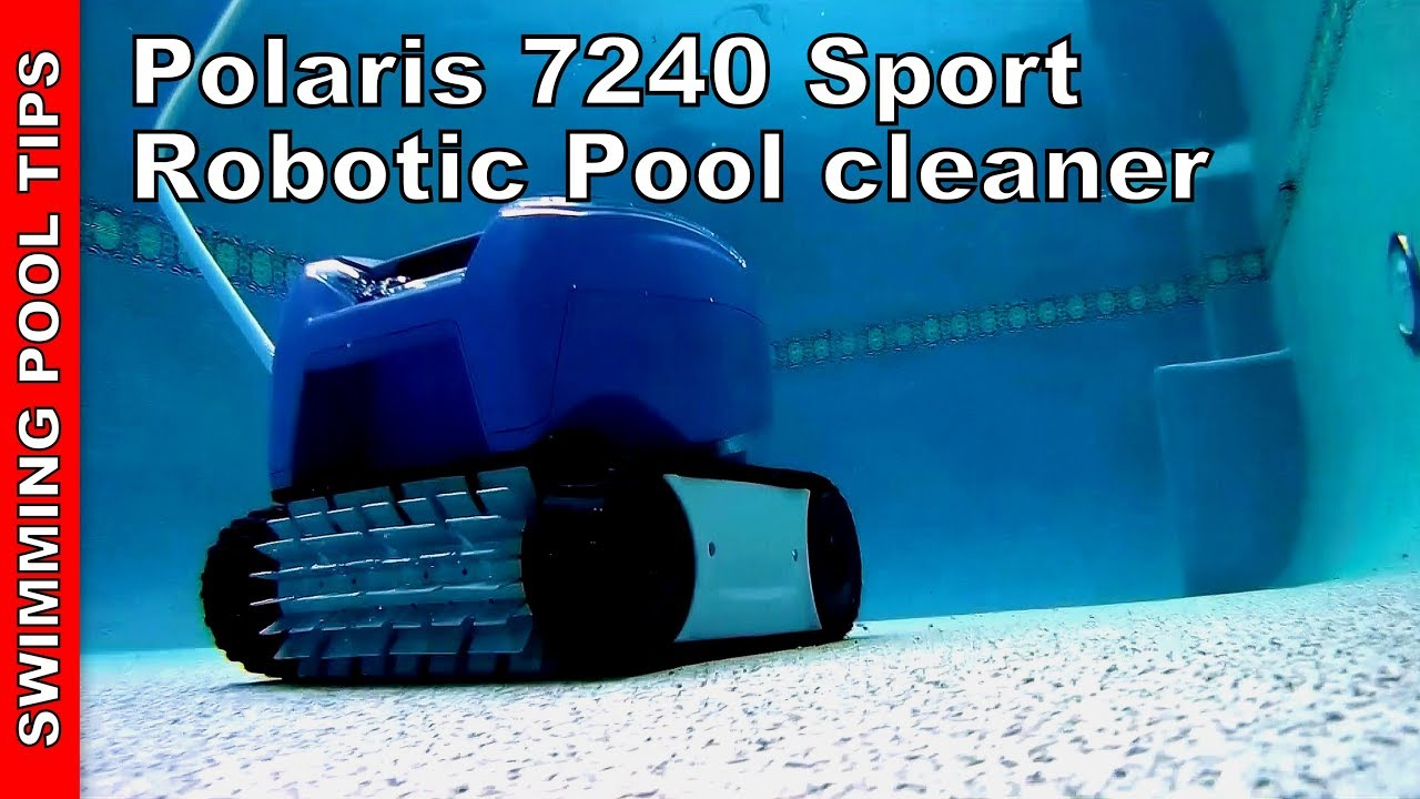 Polaris 7240 Robotic Pool Cleaner - YouTube