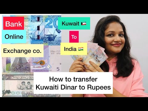 How to Transfer Money Kuwait to India | Best Way To Transfer | Online | Exchange co.| Bank Charges