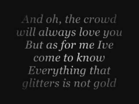 everything that glitters is not gold lyrics dan seals
