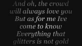 everything that glitters is not gold lyrics (dan seals)