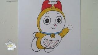 How to draw Dorami ドラミ