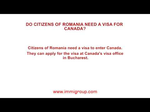 Do citizens of Romania need a visa for Canada?