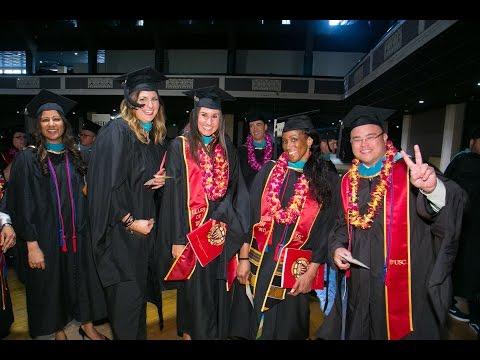 2017 USC Price Commencement Ceremony