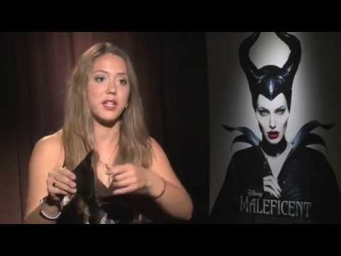 Sam Riley chats about, Angelina Jolie as Maleficent ,being naked on set and