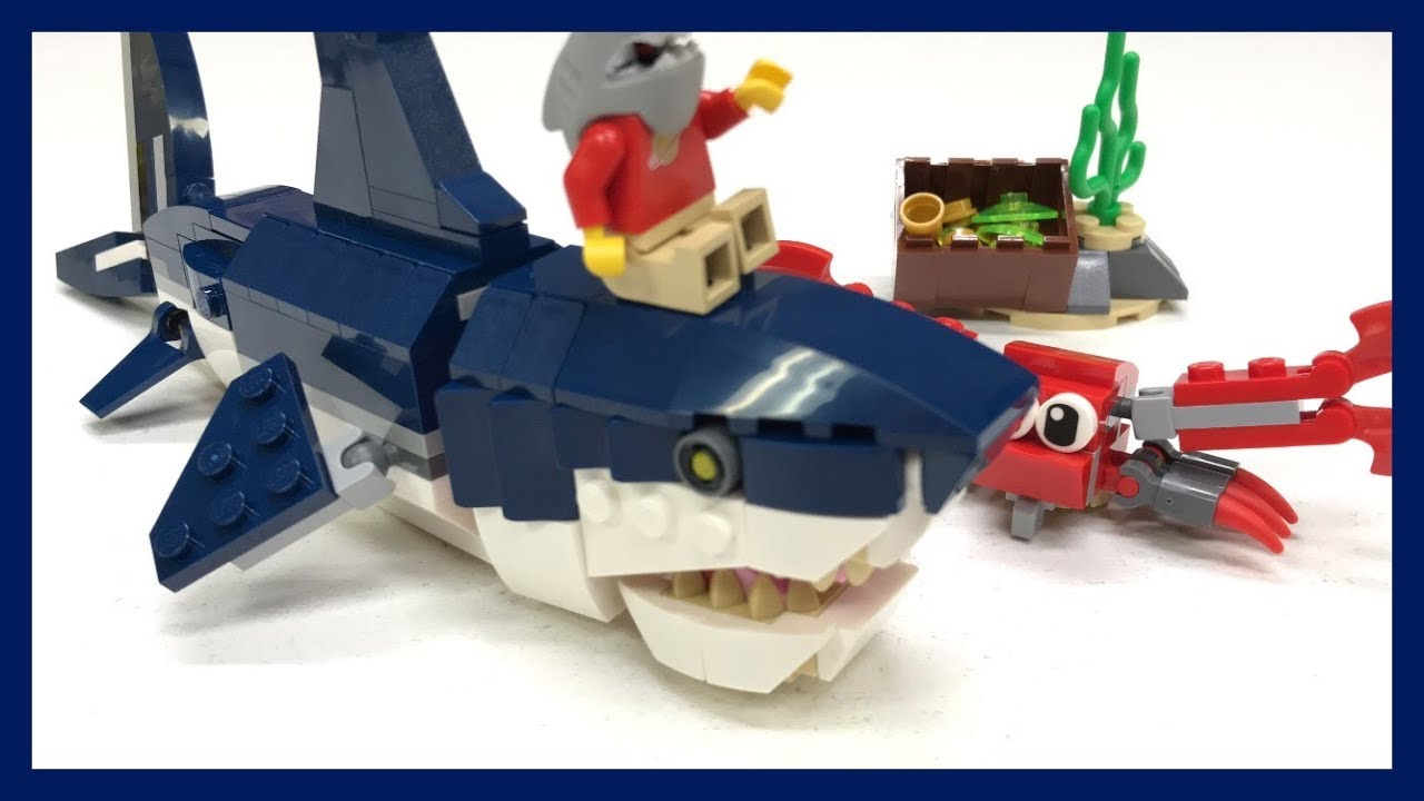 Lego Creator Shark 31088 Deep Sea Creatures New 2019 Set
