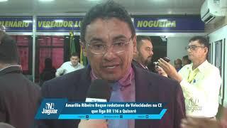 Amarilio Ribeiro requere redutores de velocidade na CE que liga BR 116 à Quixeré