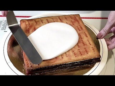 Как приготовить и использовать САХАРНУЮ ПОМАДКУ - ГЛАЗУРЬ.  /Sugar Fudge