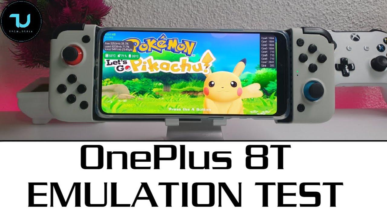 Oneplus 8t Gaming Test Emulators Damonps2 Dolphin Citra 3ds Egg Ns Switch Xiaomi Mi 10t Pro Killer Youtube