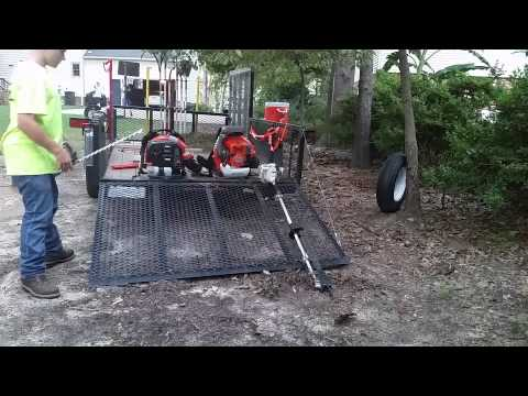 Startup Of Hedge Trimming Equipment