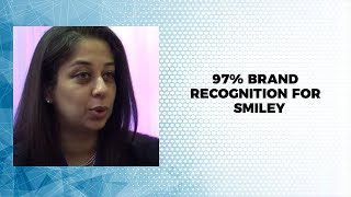 97  brand recognition for Smiley