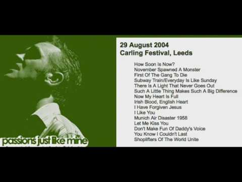 MORRISSEY - August 29, 2004 - Leeds, England, UK (Full Concert) LIVE