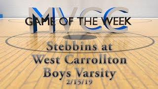 MVCC Game of the Week: Stebbins v. West Carrollton Boys Varsity