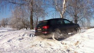 Audi Q7 - диагональное вывешивание (зима)(Audi Q7 3.0 TDI 2014 модельного года резина: Pirelli Температура: -20С Ссылка на это видео: http://youtu.be/VCfnTqQ2Els Канал: http://www.youtub..., 2014-02-16T15:02:27.000Z)