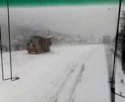 SNOW in DALIAN (Lvshun) by jawad