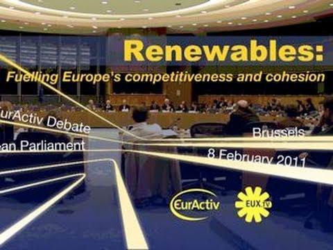 Renewables: EurActiv debate at the European Parliament - Part 1 of 2