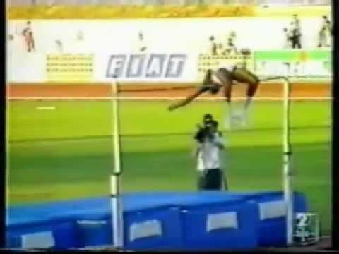 high jump world record javier sotomayor youtube. Black Bedroom Furniture Sets. Home Design Ideas