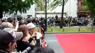 御堂筋オープンフェスタ2008 藤崎マーケット ラララライ体操.