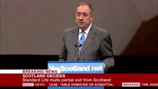 No integrity; BBC political editor heckles Salmond after being caught lying on BBC website