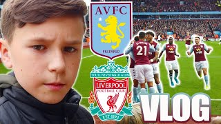 ASTON VILLA VS LIVERPOOL VLOG!