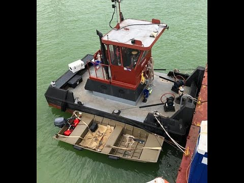 25′ x 14′ x 4′ Truckable Tug for Charter - USD 2,650