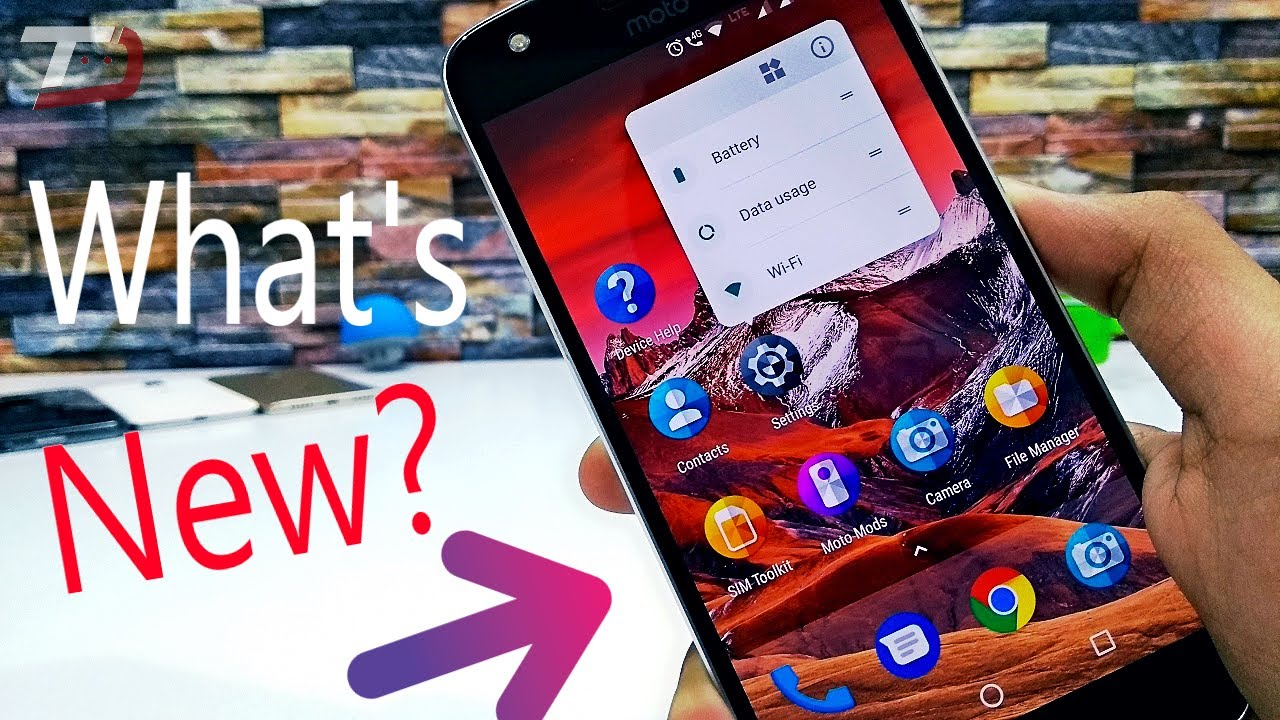Moto Z Play Android 7 1 1: What's New?