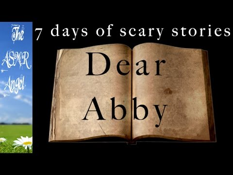 ASMR Close up Ear to Ear Unintelligible Whisper - DEAR ABBY