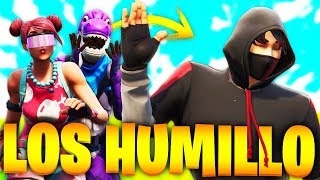 Be BURLAN of Me for NOT Having SKIN and HUMILLO with IKONIK in FORTNITE!.. 🔥😱
