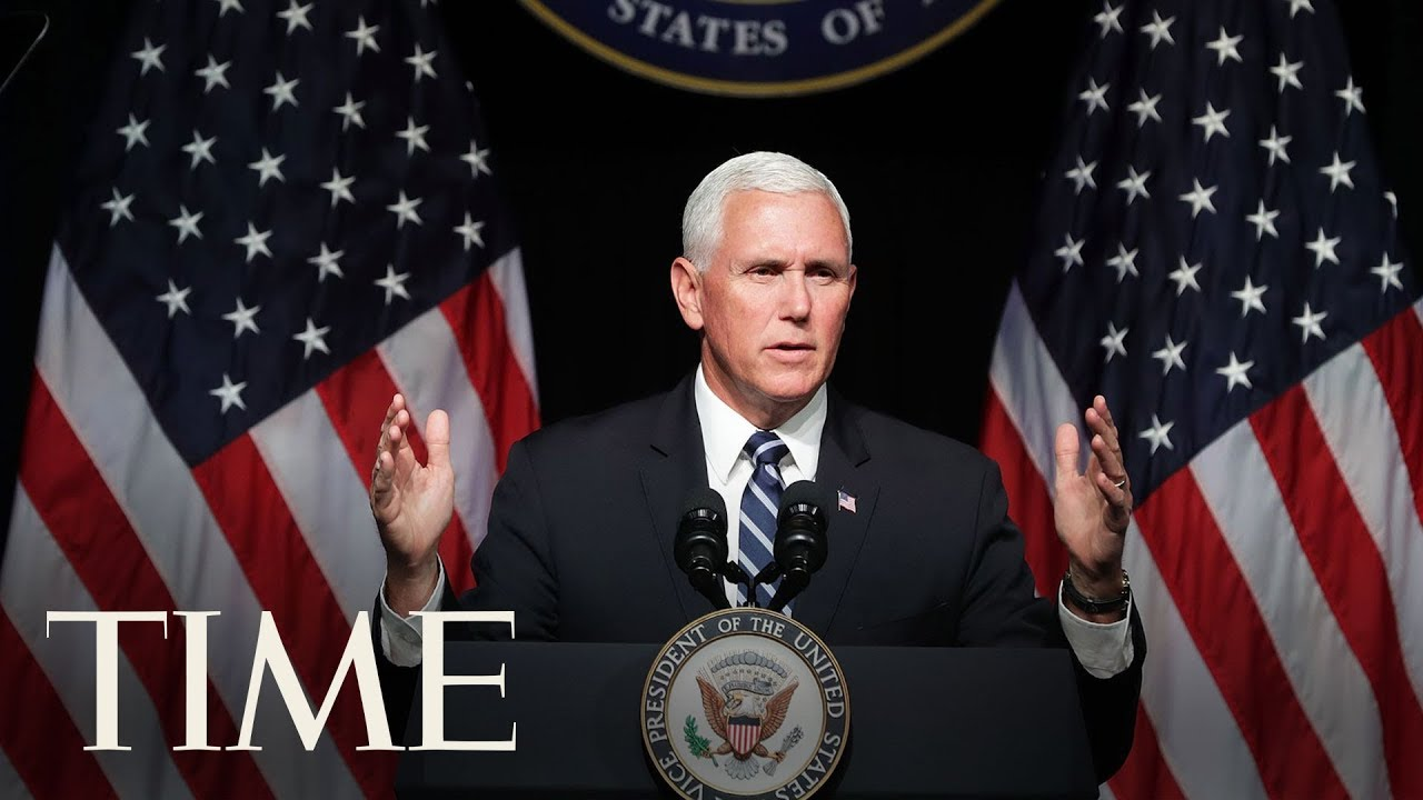 Vice President Pence Announces New Sanctions Against Venezuela's Maduro From Colombia | TIME