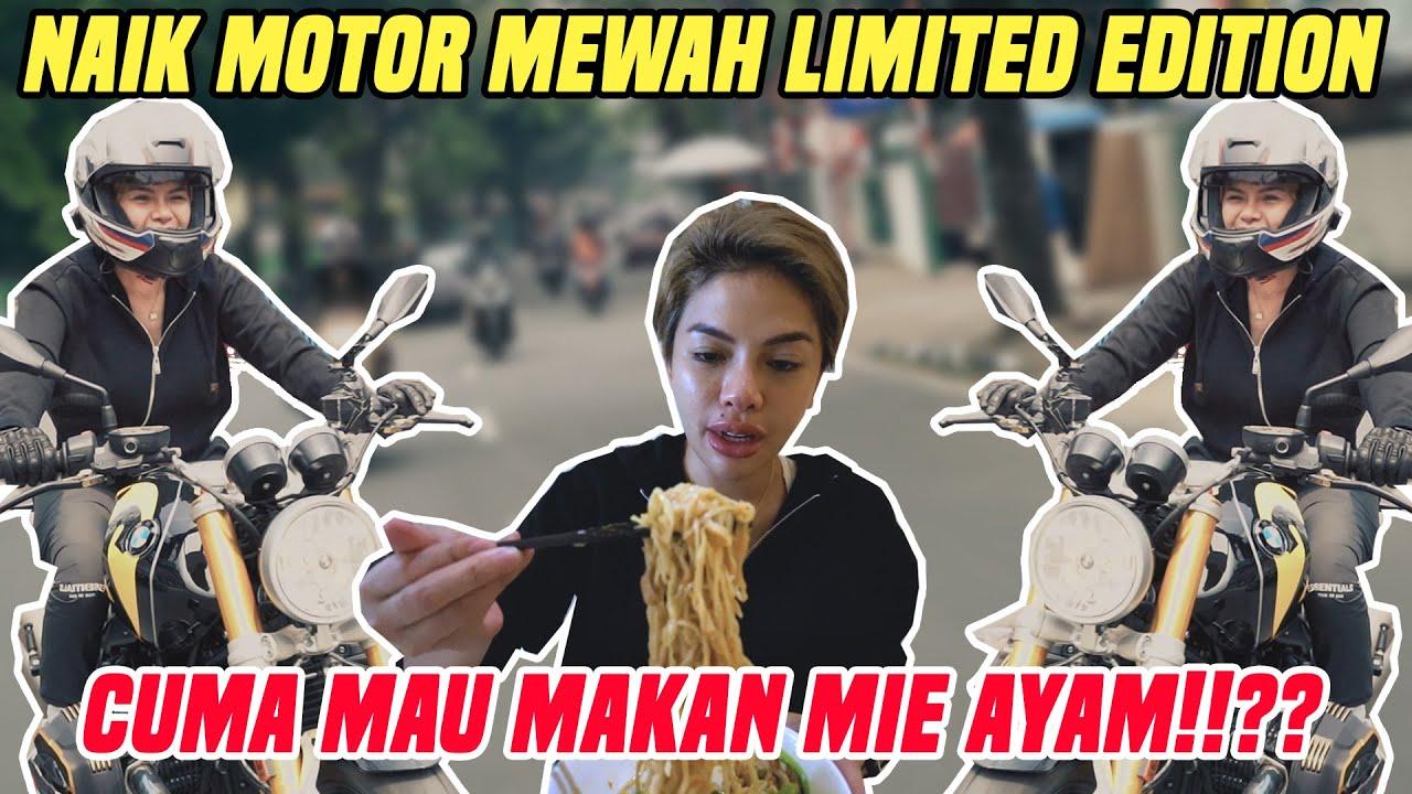 HARI SERBA MEHONG!! KELILING JAKARTA NAIK MOTOR MEHONG SAMPE  MAKAN  MIE AYAM HARGAAA SULTAAAN!!!