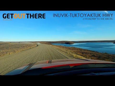 Roadtrip to the Arctic - Inuvik to Tuktoyaktuk Highway