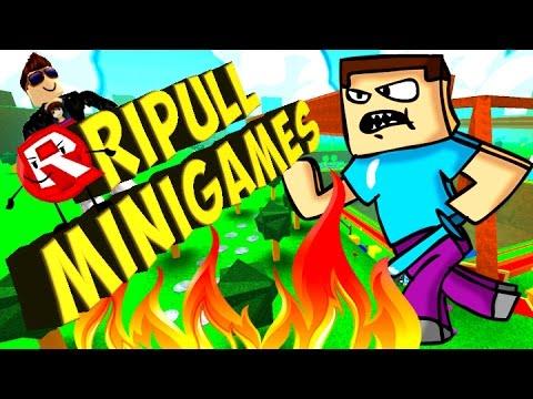 ROBLOX #26 (Ripull Minigames). Игра как МУЛЬТ для ДЕТЕЙ #РАЗВЛЕКАЙКА