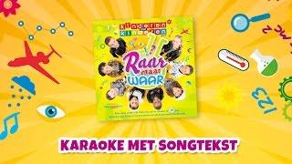 Kinderen voor Kinderen - Raar maar waar (Karaoke met songtekst)