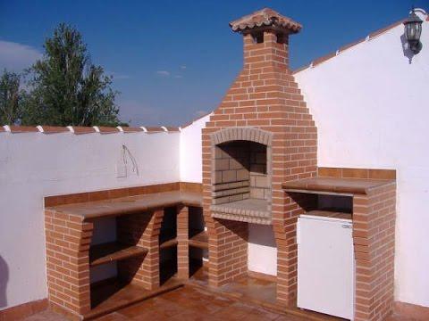Como hacer una chimenea para asador youtube for Construccion de chimeneas de ladrillo