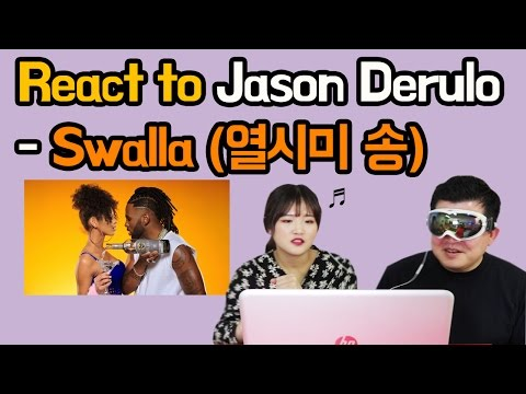 Thumbnail: Koreans React to Jason Derulo - Swalla [Music Video Reaction] / Hoontamin