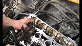 видео Замена маслосъемных колпачков на ладе приоре