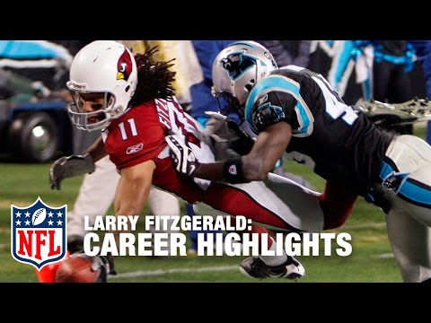 Larry Fitzgerald Career Highlights | NFL