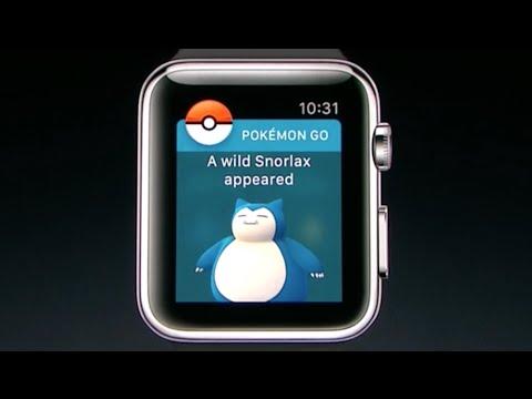 Pokemon Go On Apple Watch Youtube