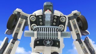 TOBOT English | 121 Brushes and Bikers | Season 1 Full Episode | Kids Cartoon | Kids Movies