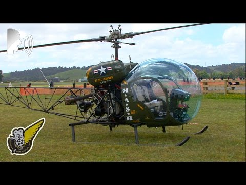 M*A*S*H Helicopter - Bell 47 ('Sioux') of Ardmore Helicopters