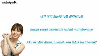 Download Lirik lagu Wendy Red Velvet (레드벨벳) - GoodBye (안녕) Ost beauty inside Part. 6~ HAN|ROM|IND Mp3