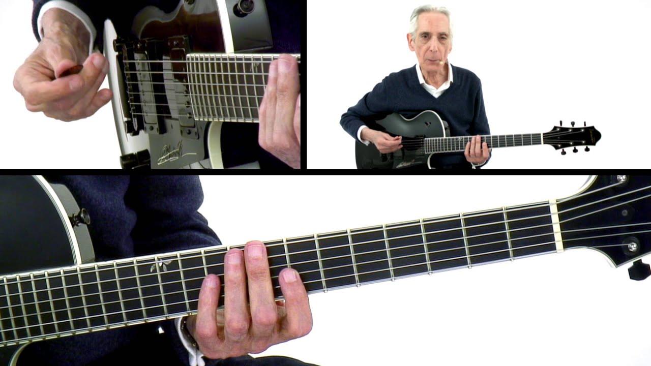 pat martino guitar lesson stairways chromati with loop