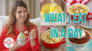 What I Eat in a Day | My 5 Go-To Mug Meals Recipes!